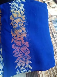 blue and white floral textile Mumbai
