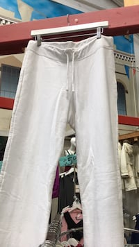 White comfortable jogging pants (available in baby blue,navy and red) Toronto, M1L 2L6