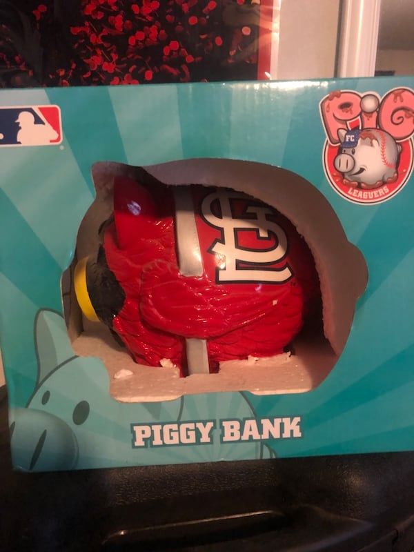 Amazing Used St Louis Cardinals Piggy Bank For Sale In Peoria Letgo Funny Birthday Cards Online Fluifree Goldxyz