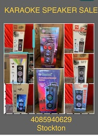 KARAOKE SPEAKER SALE 149&UP  Stockton, 95210