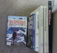 $10 Backpacking/Hiking Books Calgary, T2K 2J4