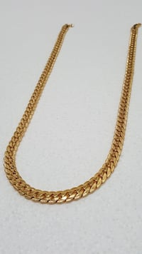 18K Gold PVD Plated Miami Cuban Chain Brampton