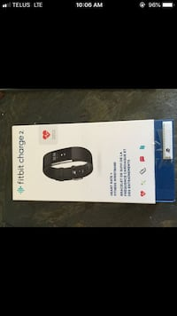 Mint condition Fitbit charge 2 black small Calgary, T2Y 2E2