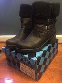 Jcpenny leather boots brand new Gaithersburg, 20877