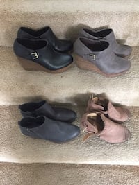 4 pair womens shoes