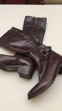 Italian leather boots size 6 Gatineau, J8T 5N7
