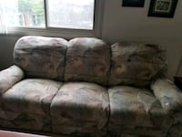 brown and gray floral 3-seat sofa Silver Spring, 20906