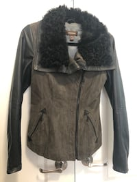 Danier Leather & Lamb Fur jacket Vaughan