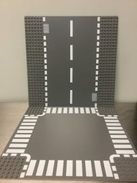 LEGO Straight and Crossroad baseplates Vancouver, V5M 1P2
