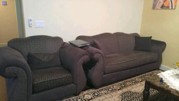 4 piece sofa set in excellent condition