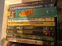 assorted DVD movie case lot Los Angeles, 90291