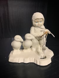 Dept 56 Winter Tales Of The Snowbabies Fishing For Dreams Figurine