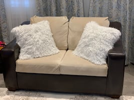 Love seat, sofa and chair