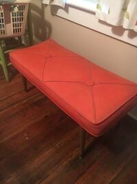 Vintage leather bench  Lincolnton, 28092
