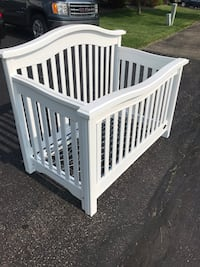 Kinsley crib to college bed baby infant toddler child