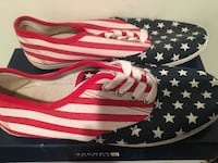 Patriotic American flag shoes  Toronto, M1E 1L8
