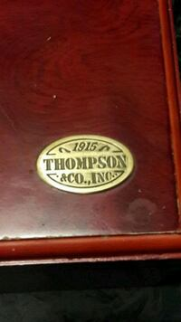 1915 THOMAS & CO. CIGAR HUMIDOR
