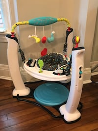 aca5ee7cc Used Evenflo ExerSaucer Jump and Learn Center- Jam Session for ...