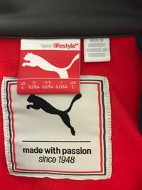 Size large puma in new condition  Winnipeg, R2W 2E3