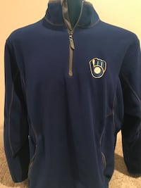 Brewers Antigua Pullover, Size XL Milwaukee