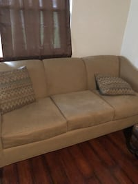brown fabric 3-seat sofa Washington, 20024