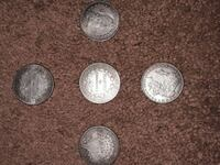 four round silver-colored coins Portland, 97236