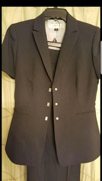 Womens pinstripe suit Hoover