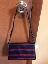 Liz Claiborne small purse - red/black  Brand new with tags  Hagerstown, 21740