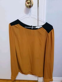 women's yellow and black blouse Toronto
