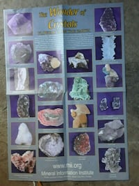 Gems and Mineral 2 sided Poster Reno, 89512