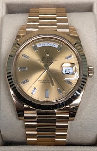 ROLEX Day-Date all 18k Gold and Diamond Dial, President Band NEW!  Costa Mesa, 92627