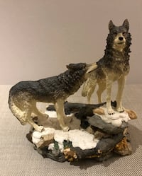 Wolves Statue