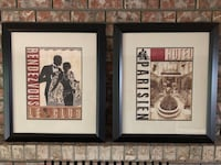 PAIR OF HIGH END ART PRINTS Coquitlam, V3C 4X7