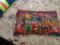 red, blue, and yellow floral wristlet Citrus Heights, 95610