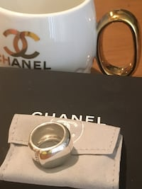Chanel sterling silver ring Anaheim, 92804