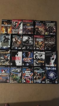Assorted ps2 video games 20$ for all  Camrose, T4V 3C3