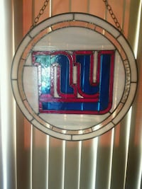 NEW YORK GIANTS STAINED GLASS Lancaster, 93534