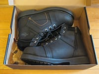 Harley-Davidson Leather Black Steel Toe Boot Vaughan