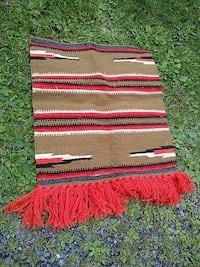 brown, white, and red scarf Auburn, 13021