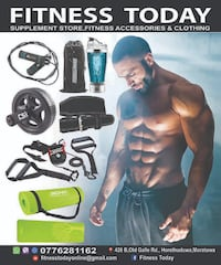 Fitness accessories COLOMBO