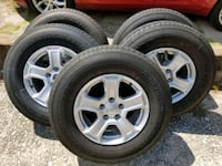 5 set wheels and tires Greenville, 75401