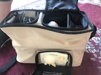 White and black duffel bag Sacramento, 95831