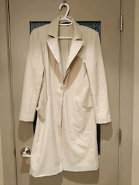 Long beige blazer size small/medium