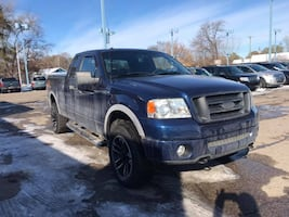 2007 BLUE Ford F-150 FX4 4X⃣4 TRUCK MOONROOF TOW RELIABLE