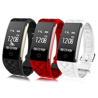 Smart watch smartwatch for smartphones gadgets with heart rate monitor