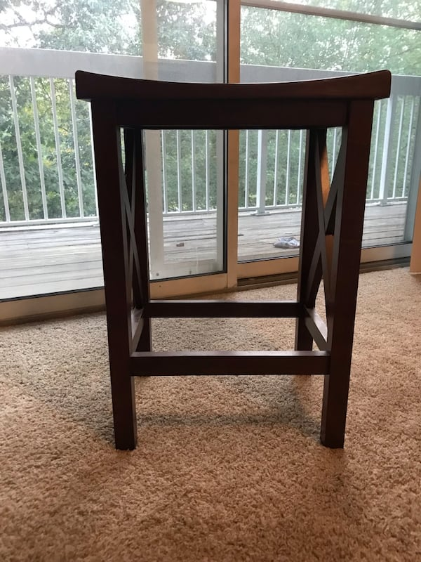 Wooden end table or stool 1