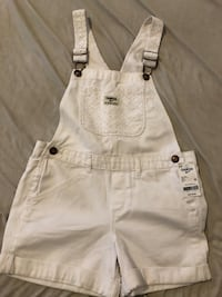 Kids white jumpsuit brand new  Toronto, M6K 2X8