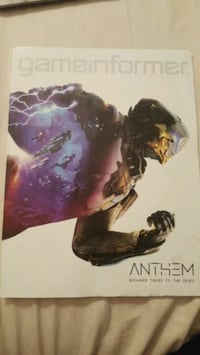 Game Informer Anthem, RARE COVER  Phoenix