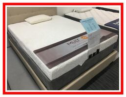 Brand New, still in plastic, Queen Memory Foam Set