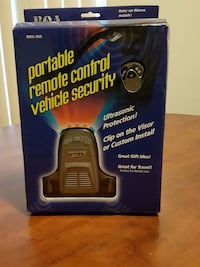 portable remote control vehicle security Frederick, 21702